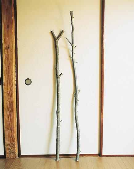 革の三脚スツール