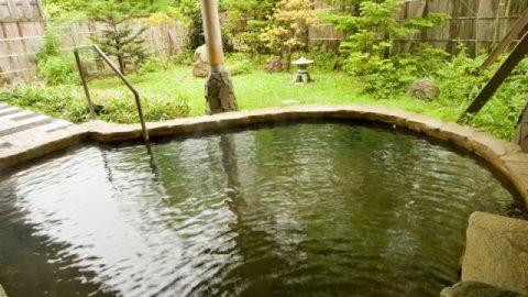 鹿沢温泉露天風呂