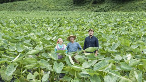 山形県最上郡真室川町の「森の家」。1981年生まれの佐藤春樹さん(写真右)はナント20代目。