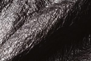 軽く強靱なダイニーマ繊 維をUV樹脂でラミネート した不織布状の生地素材。
