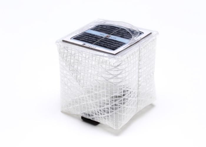 solar puff,ウォームライト,太陽光パネル