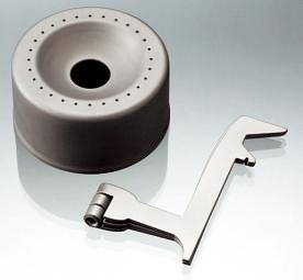 本体は直径61×高さ32㎜。折りたたみ式の脚と合わせてもわずか48g。