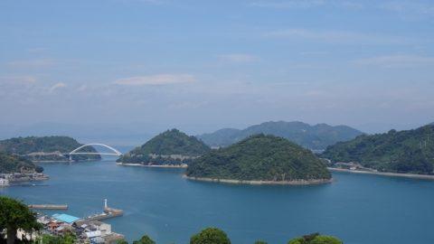 しまなみ海道の西側。愛媛県岡村島から広島県の呉市までの5島を橋で繋いだルート。しまなみ海道よりも、小さい橋のため、海をさらに近くに感じながら、ポタリングできる♪しまなみ海道の次は、コチラも旅してみては?