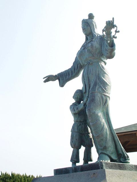 奴奈川姫はゆるキャラのぬーなちゃんとしても活躍中。