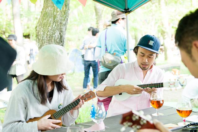 ライブ出演者miya takehiroのウクレレワークショップ