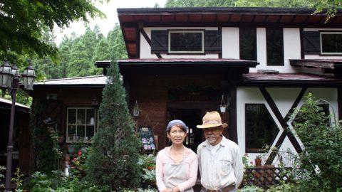 1993年に福岡から熊本の阿蘇・小国町へ移住した上野敏夫さん・奈美さん夫妻