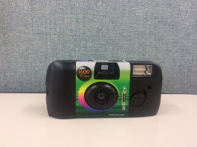 FUJIFILM レンズ付フイルム フジカラー 写ルンです 1600 Hi-Speed (高感度・高速シャッター) 39枚撮り LF 1600HS-N FL 27SH 1