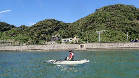 乗って漕いでるだけでも楽しいのに釣りをしたらどうなるんだろう