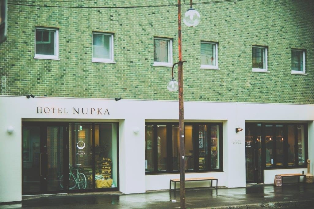 帯広のリノベーション系ホテル『ヌプカ』。