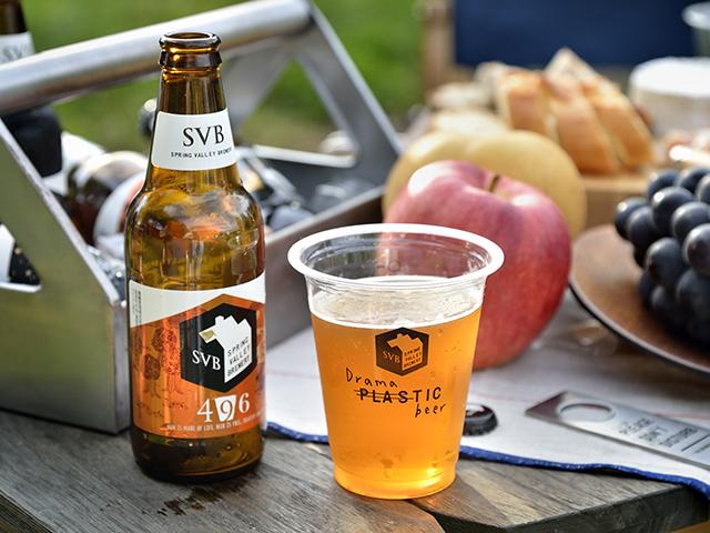 キリンビールが展開する「スプリングバレーブルワリー」シリーズ。確かな技術とちょっとした遊び心、そしてなによりもビールへの深い愛をもったブリュワー達が、自分が本当につくりたいビールを提案。そのひとつ「496」は、エールのような豊潤さとラガーのようなキレ、IPAのように濃密なホップ感。甘味・酸味・苦味の究極のバランスと深い余韻が楽しめます。