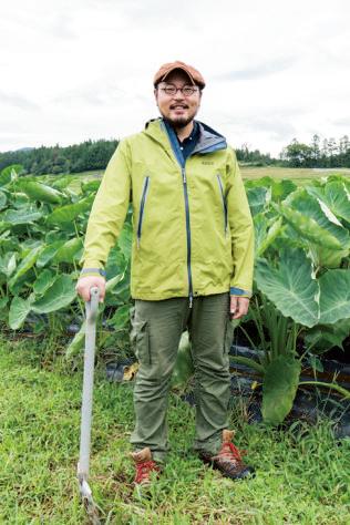 1981年山形県真室川町生まれ。 『甚五右ヱ門芋』を育てている農 家『森の家』の 20 代目。イベント などにも積極的に出店し、真室川 の特産品をアピールしている。