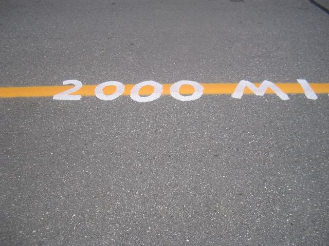 メイン州 2000マイル地点