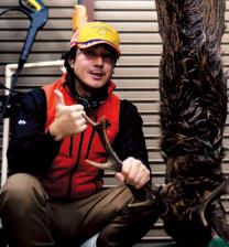 岐阜県郡上八幡の里山保全組織・猪鹿庁にて広報全般やツアー企画・運営を主に担当。