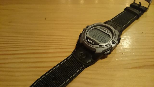 購入したタイメックスの時計
