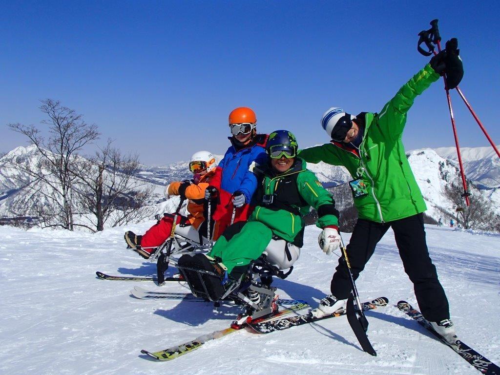 大人も子どももアクティブに雪まみれになろう!