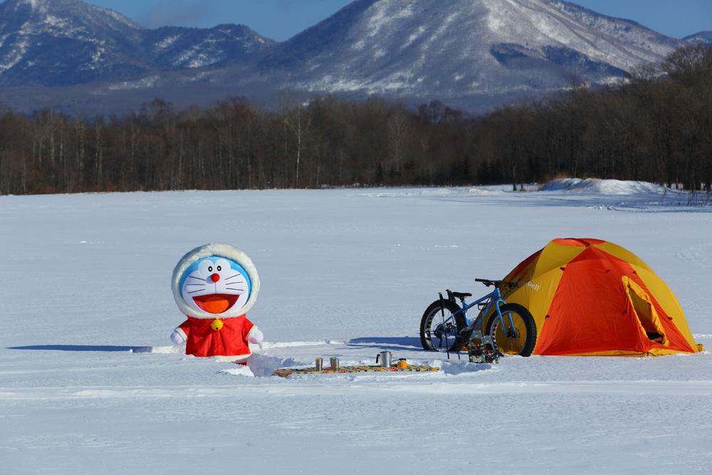 北海道・十勝平野で雪遊びに挑戦!