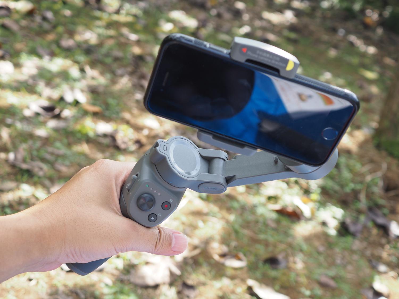 Osmo Mobile 3の操作ボタン