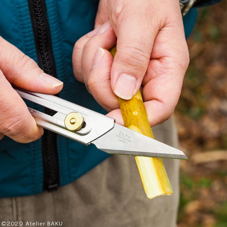 クラフトナイフ、竹とんぼ