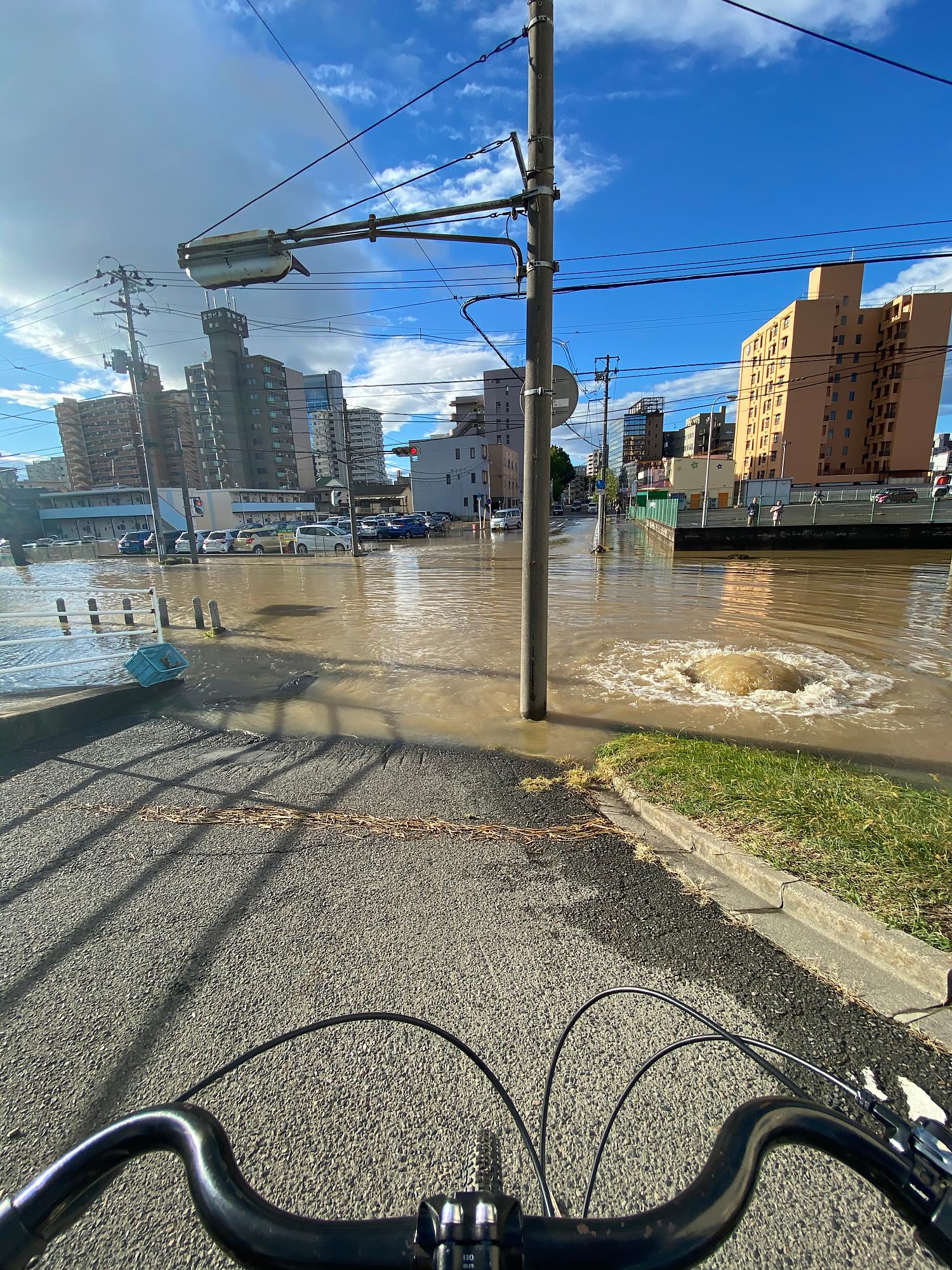 令和元年東日本台風による浸水被害